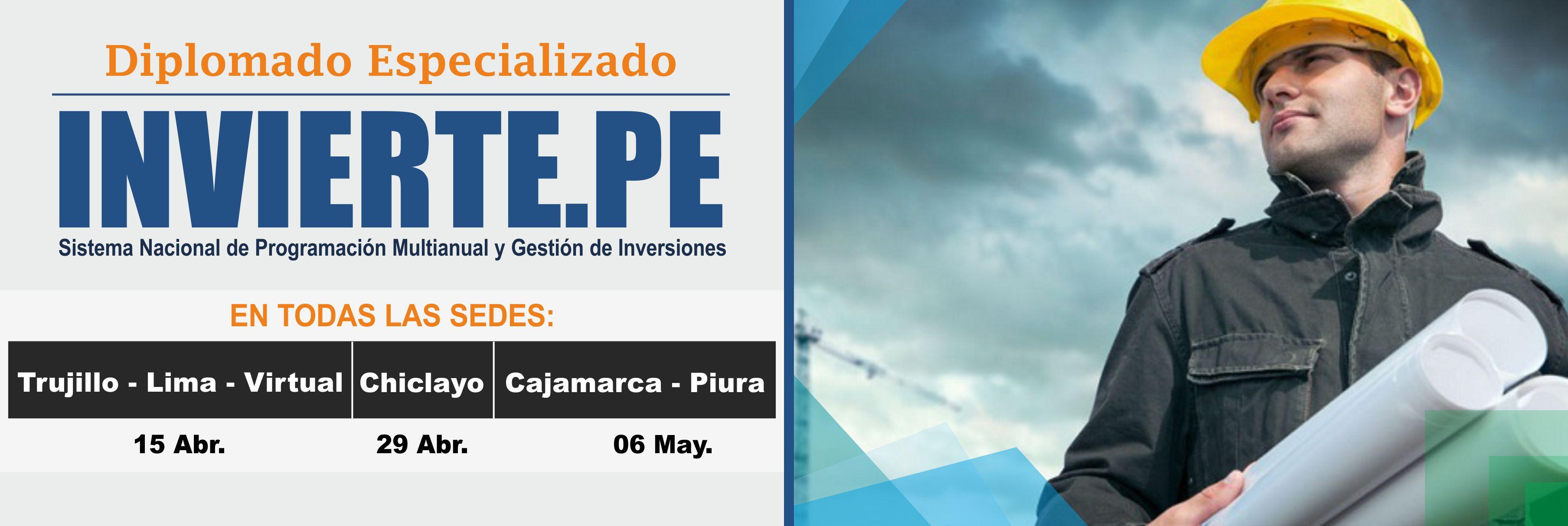 Diplomado Especializado INVIERTE.PE